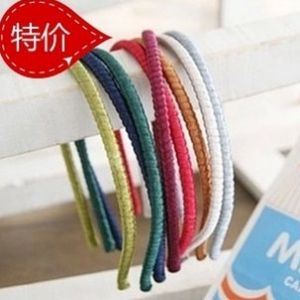 G76 Handmade candy-colored hair bands
