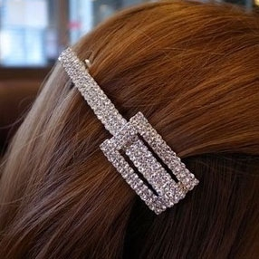 G68 Diamond Square hair clip