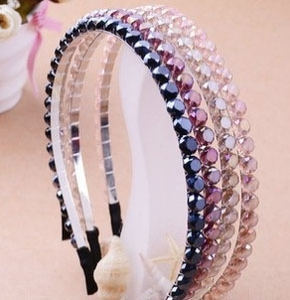 G66 Candy-Coloured diamond Hair Bands