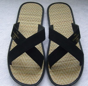 Straw Mat Slippers