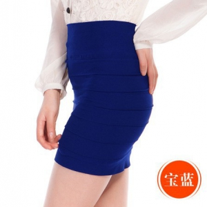 Candy-colored Bandage skirt