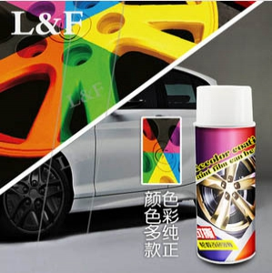 Car Wheels colour spray paint