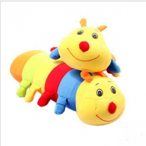 Colorful caterpillar charcoal odour doll bag