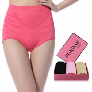 A set of 3pc  Hips Up Shaping Slimming Panties