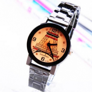 161694  Trendy design Steel Watch