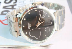 107482 Trendy design Steel Watch