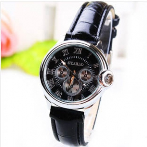 165737 Classic Casual leather watch