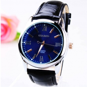 164290 Simple design Leather watch