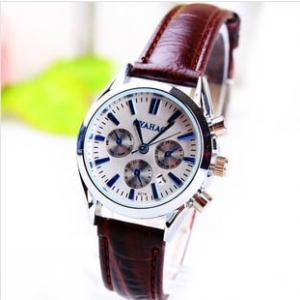 165753 Classic Casual leather watch