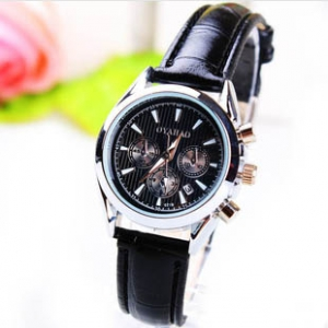 165746 Classic Casual leather watch