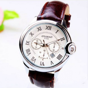 164331 Classic Casual leather watch