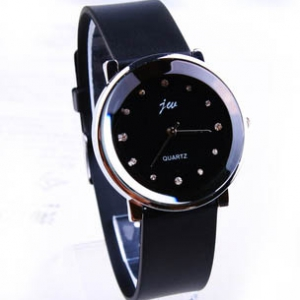 158443 Simple design Leather watch