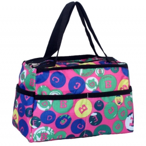 Casual Waterproof assorted printed lunch bag / handbags