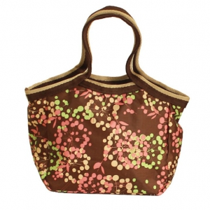 Waterproof Cute printing little lunch bag / ladies bag