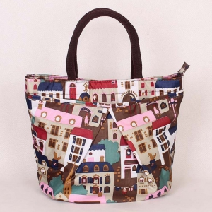 Colourful lunch bag / mini handbag NO.9