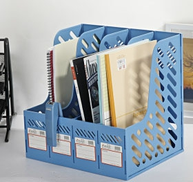 4 Compartments File Holder 3418