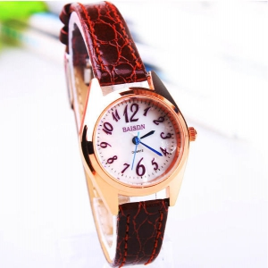 162264 Casual leather watch