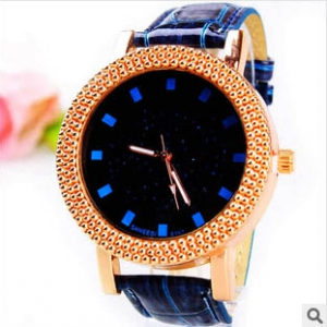 164762 Trendy Casual leather watch