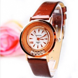 165611  Casual  leather watch
