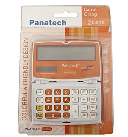 Pocket Size Electronic Calculator PA-100-OE