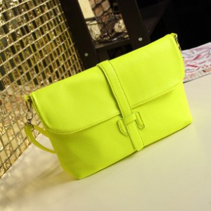 Candy-coloured PU leather mini shoulder bags / sling bags