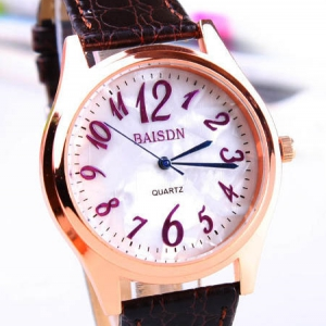 162263  Casual leather watch