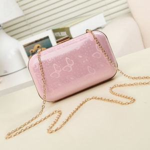 High-end shiny mini evening bag