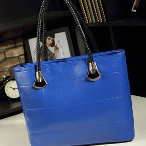 Korean Casual Messenger ladies bag ( Blue)