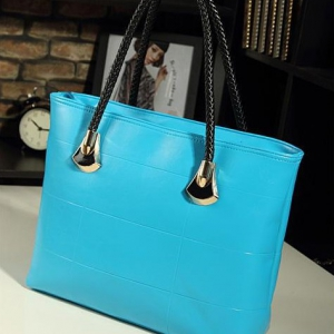 Korean Casual Messenger ladies bag ( Sky Blue)