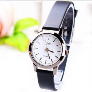 165412 Trendy simple design leather watch