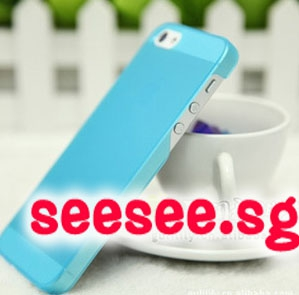 Iphone 5 Transparent Jelly Phone Casing