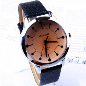 158014 Tinted glass exquisite belt watch