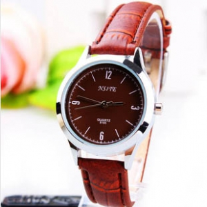 165396  Fashionable Casual leather watch