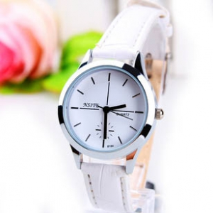 165388  Trendy leather watch