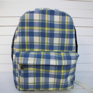 Defective Printed Canvas back pack bag