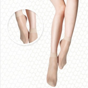 HZ/22006 Ultra-thin transparent short stockings sock 2 pairs