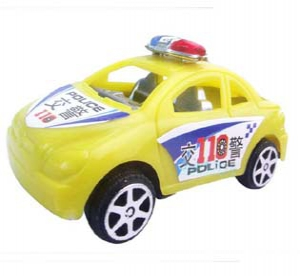 Assorted Police Toy Cars
