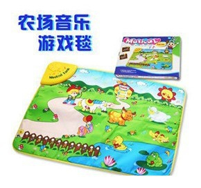 Happy Farm Musical Baby Crawling Carpet Game