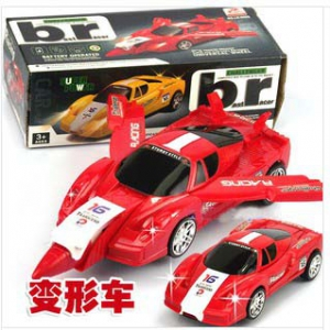 Transformable Racing Toy Car to Plane