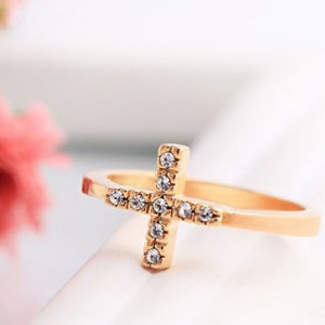 C338  Cross design Rings