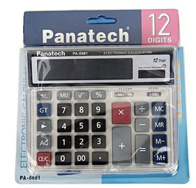 PA-6681 Large Size Solar Calculator