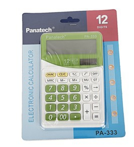PA-333  Cute Pastel Colour Solar Calculator