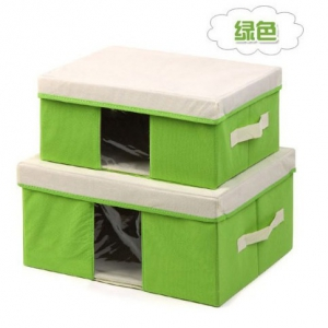 35*25*16CM Foldable Storage Box With See Through Panel