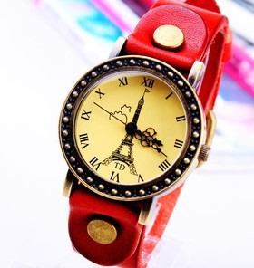 Trendy Casual leather watch