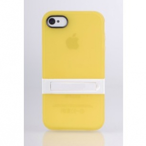 Iphone 5 / 5S  ,4/ 4S transparent color phone casing (Random design)