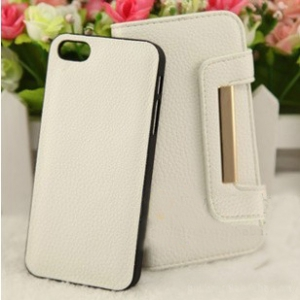 Iphone 5 / 5S leather flip cover