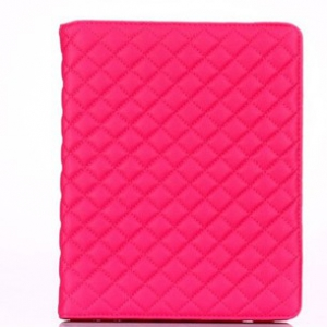 ipad 2/3/4/Air/quilted leather Casing (random design)