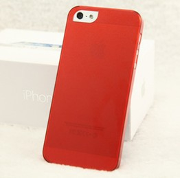 Iphone5 / 5S  0.5mm Slim transparent casing