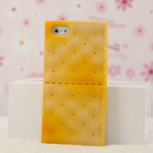Iphone 5  / 5S  silicone crackers Casing