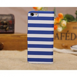 Iphone 5C stylish horizontal stripes flip cover